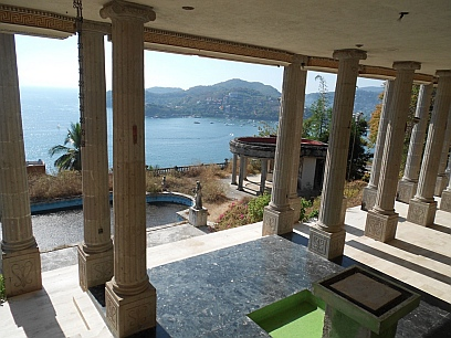 View from the balcony of Arturo Durazo's Parthenon in Zihuatanejo, Mexico.