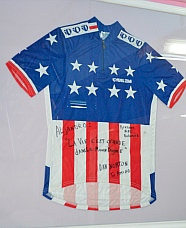 Awesome Dan Norton US National champions cycling jersey.