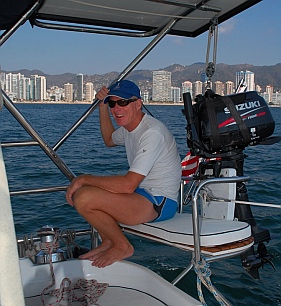 Wonderful daysailing in Acapulco Bay.