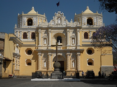 Cathedral at Antigua, Guatemala