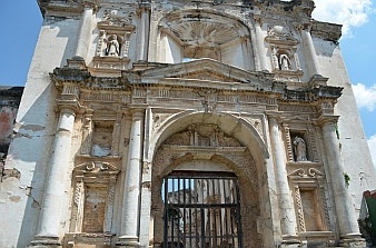 Cathedral ruins in Antigua, Guatemala
