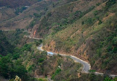 Mountain roads, Chiapas, Mexico
