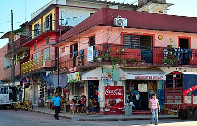 Palenque is a busy town that is surprisingly unaware of its tourists.
