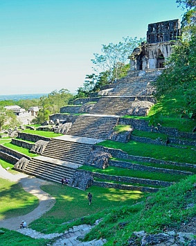Temple of the Cross, Palenque, Mexico
