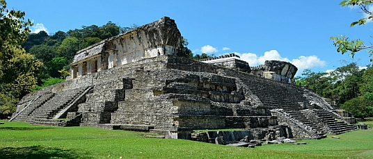 The Palace, Palenque, Mexico