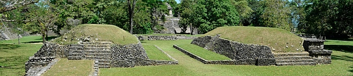 The Ball Court, Palenque, Mexico