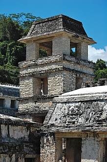 Watchtower, Palenque, Mexico