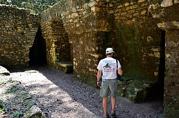 Yaxchilan & Bonampak Tour - Entering
