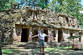 Yaxchilan & Bonampak Tour - ...in front of