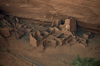 Close-up of Antelope House, Chelly National Park, Arizona.