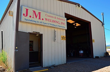 An excellent welding shop that does awesome metal fabrication:  JM Welding in Blanding, Utah.
