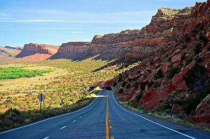 Photos from the Bicentennial Highway, Scenic Route 95 in Utah.