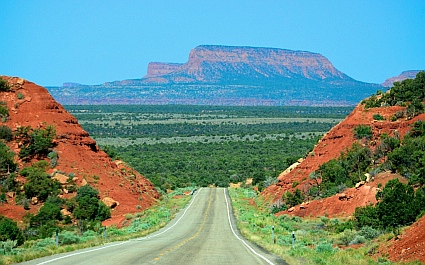 Here's one of many spectacular views along the Bicentennial Highway, Scenic Route 95 in Utah.