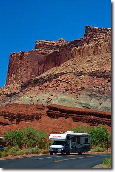 Fruita in Capitol Reef National Park, Utah.