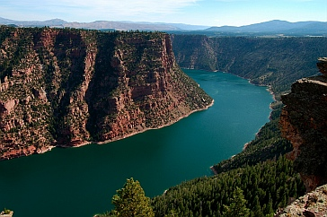 Flaming Gorge National Park And Park City Utah