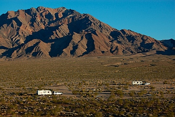 Outside Death Valley CA California great RV boondocking