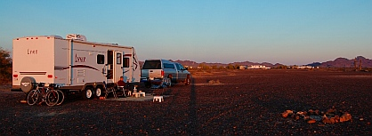 Quartzsite, AZ Boondocking