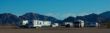 Boondocking with the Boondockers in Quartzsite, Arizona