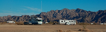 Boondockers in Quartzsite, AZ