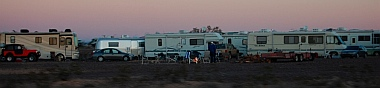 Boondocking in Quartzsite, Arizona