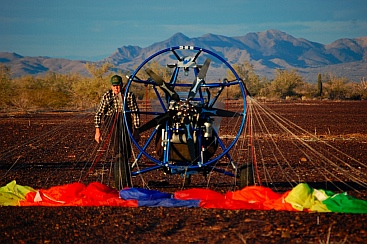 Ultralights with the boondockers in Quartzsite, AZ