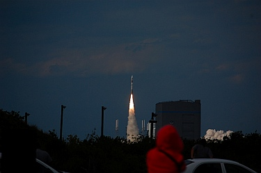 Cape Canaveral Rocket Launch Florida
